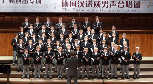 Der KNABENCHOR HANNOVER in China